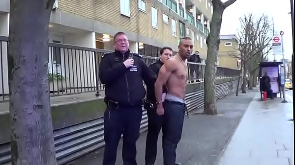 shirtless guy pissed off… in public