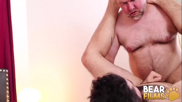 BEARFILMS Tony Rivers Fucked By Daddy Bear After Rimming